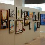 2011/3/10~3/14 桐生大学 短期大学部 アートデザイン学科展